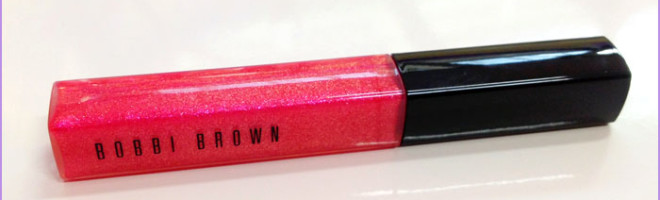 Review – Bobbi Brown High Shimmer Lip Gloss in Hot